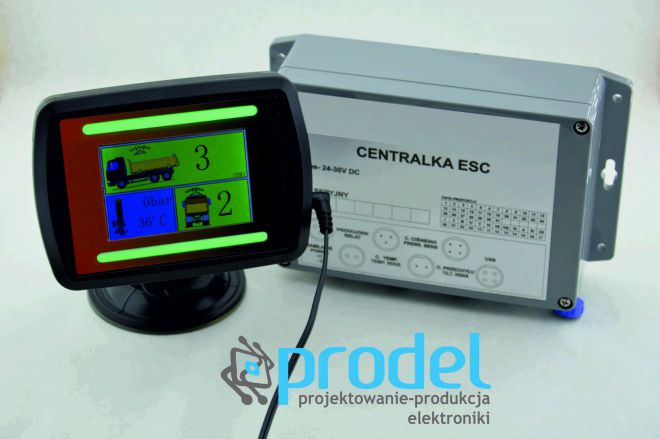 rejestrator ESC Prodel producent elektroniki